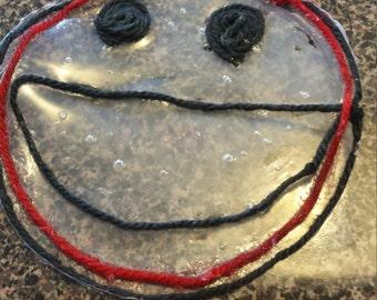 Glue Smiley Face