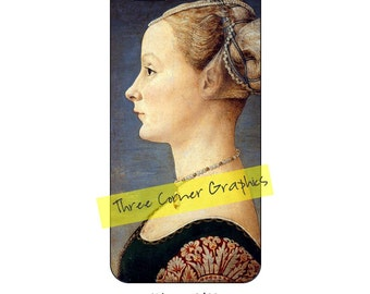 Fine art iPhone 6/6S case design (Italian Renaissance Portrait of a Young Woman, Antonio del Pollaiuolo, around 1465)
