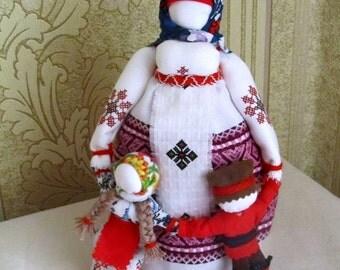 "Ukrainian folk doll motanka Veduchka/Кукла-мотанка ""Ведучка"""