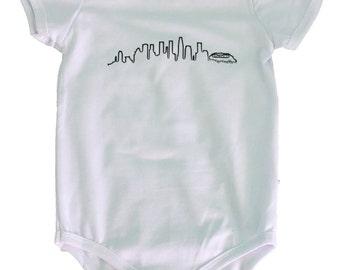 Los Angeles Skyline Onesie/T-Shirt