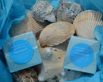 Mermaid Scented Goats Milk Bar Soap