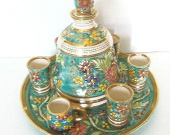 Vintage Cordial Set - Made in Belgium