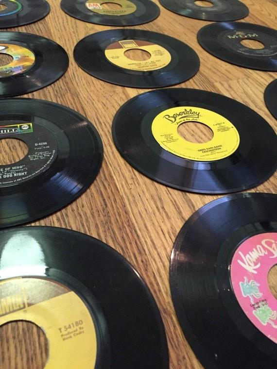 Record Wall Decor 50 7 Vinyl Records Wall