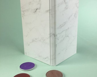 Marble Magnetic Makeup Palette - Double Sided Print
