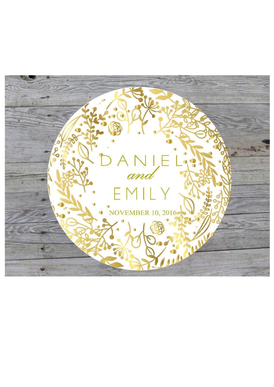 Wedding Stickers for Favors Personalized Thank You Stickers Wedding ...