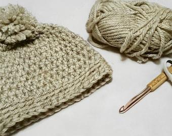 Crochet chunky winter hat | Teen - Adult size | handmade
