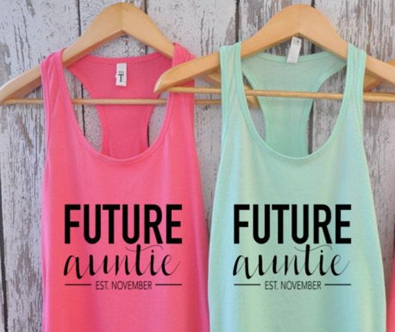 Custom future auntie / Future aunt / Future Nana