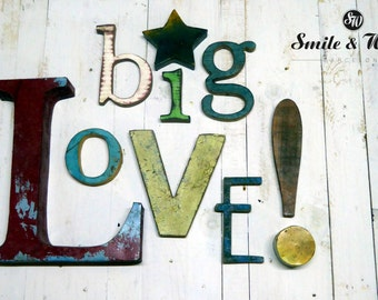 "WORD ""BIG LOVE."""