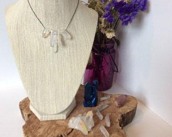NEW Angel Aura Quartz Necklace