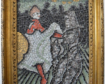 Moulin Rouge Mosaic Artwork