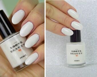 White nail polish 10ml