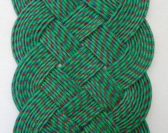 Green Carrick Bend Mat