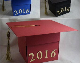 Graduation Photo Album Explosion Box