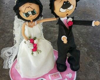 Fofuchos bride and groom