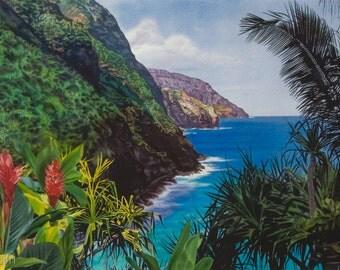 Napali Trail ~ Kauai