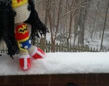 DC Comics Wonder Woman Crochet Doll