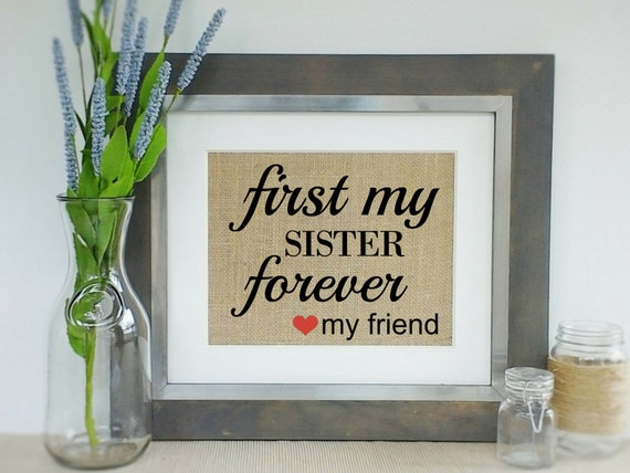 Perfect Wedding Gift For Sister: Personalized Gift For SISTER Birthday Mother's Day Gift