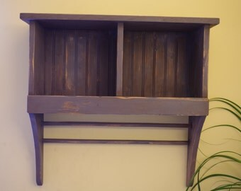 Country Cubby Shelf
