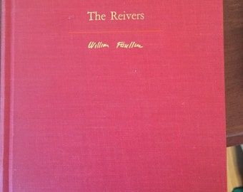The Reivers by William Faulkner, First Printing 1962