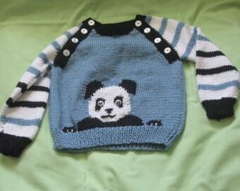 Playful Panda Sweater