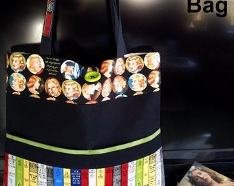 Get A Clue Nancy Drew MYSTERY TOTE Bag KIT - Includes Pattern & all Moda Nancy Drew Fabric // Purse Kit
