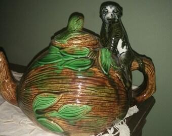 Vintage Monkey Teapot