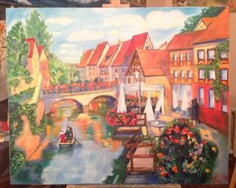 Oil painting from Natalia Akimkina