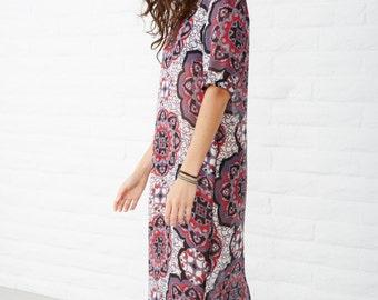 Caftan, bohemian dress, boho dress, tunic, maxi dress, kaftan,
