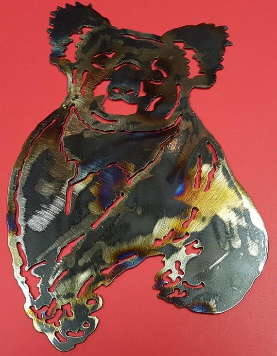 Koala Bear, Marsupial, Australia Bear, Australia Animal, Metal Koala Bear, Koala Wall Art Hanging, Indoor Wall Art, Outdoor Wall Art, Gift