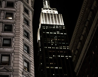 Picture of the Empire State Building, New York City, Manhattan, USA