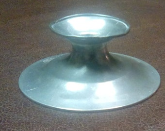L.H. Vaughan Pewter Candlestick