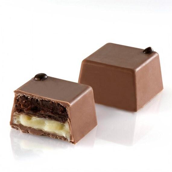 Black and White Chocolate Truffles, gourmet Chocolate gift,  kosher chocolate gift, gourmet gift