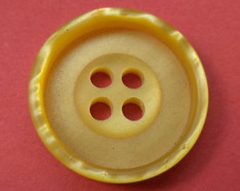 8 yellow buttons 23mm (3505)