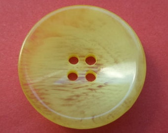 12 buttons 20mm yellow (661) button