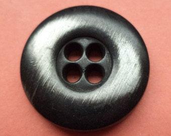 Metal button buttons 7 metal buttons black 20 mm (1879)