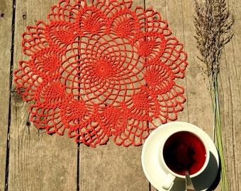 Crochet doily handmade