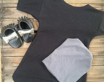 Bandless Oversized Tunic Dress - Baby and Toddler Tunic - Baby and Toddler Clothing
