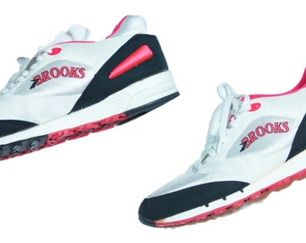 Vintage 80's Brooks Rage Flowmaster Running Shoes Men's Sz 11 -RARE DEADSTOCK-