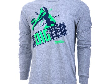 aDIGted Long Sleeve Volleyball T-Shirt, Volleyball Shirts, Volleyball Gift - Free Shipping!