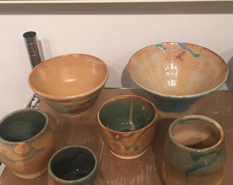 Collection of Cup, Bowls and Mugs