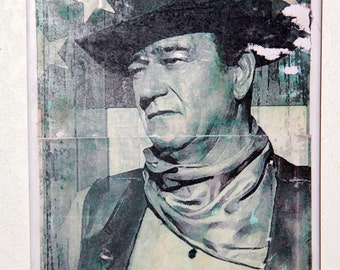 "Shop ""john wayne"" in Mixed Media & Collage"