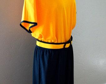 Yellow Caron Dress