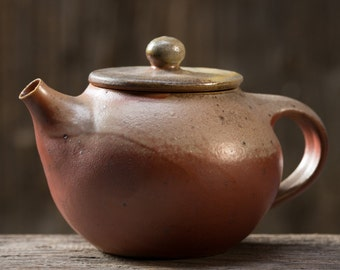 Little Teapot - Anagama Kiln Fired - tk-sl-75