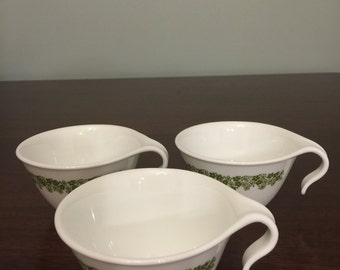 Set of 3 Corelle Spring Blossom Cups