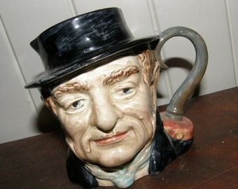 beswick toby jug 1,120 / captain cuttle / vintage toby jug / toby jug / character jug / captain cuttle toby jug