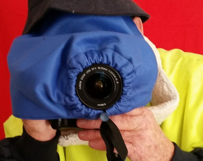 Heavy Duty Camera and Lens Rain Cover Photography Accessories Protect rain or water splash Triple layer Bag inc
