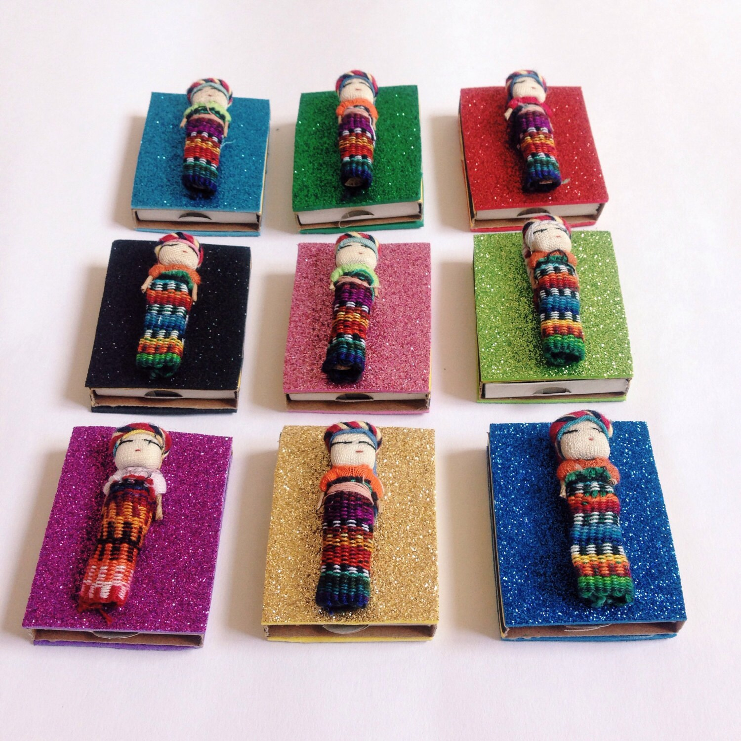 Mexican Party Favors Fiesta Favors Worry Dolls Mexican