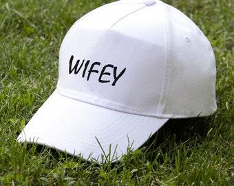 Wifey Baseball Cap Girls Cap Women Baseball Hat Womens Hat Gift for Her Ladies Baseball Hat Summer Hat Gift for Women PA2012