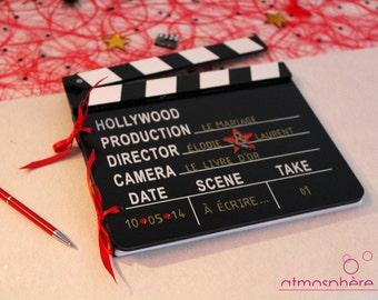 Clap Theme Cinema - baptism, birthday, wedding guestbook
