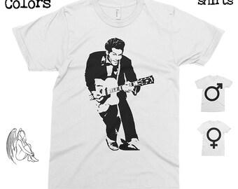 Chuck Berry T-shirt, Tee, American Apparel, Music, Cult, Jazz, Blues, Rock, Miles Davis, Muddy Waters, Little Walter, Cool Gift!